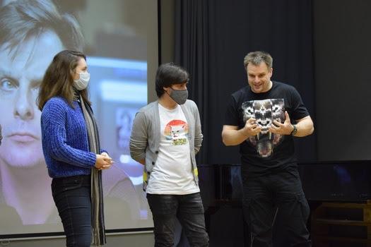 Мастер-класс для студентов ВГИИКа провел актер театра и кино Александр Носик