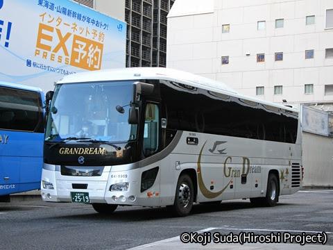 中国JRバス「百万石ドリーム広島号」 641-8969