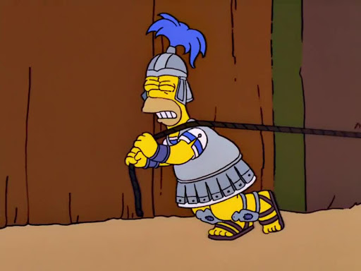 Los Simpsons 13x14 Cuentos del dominio público