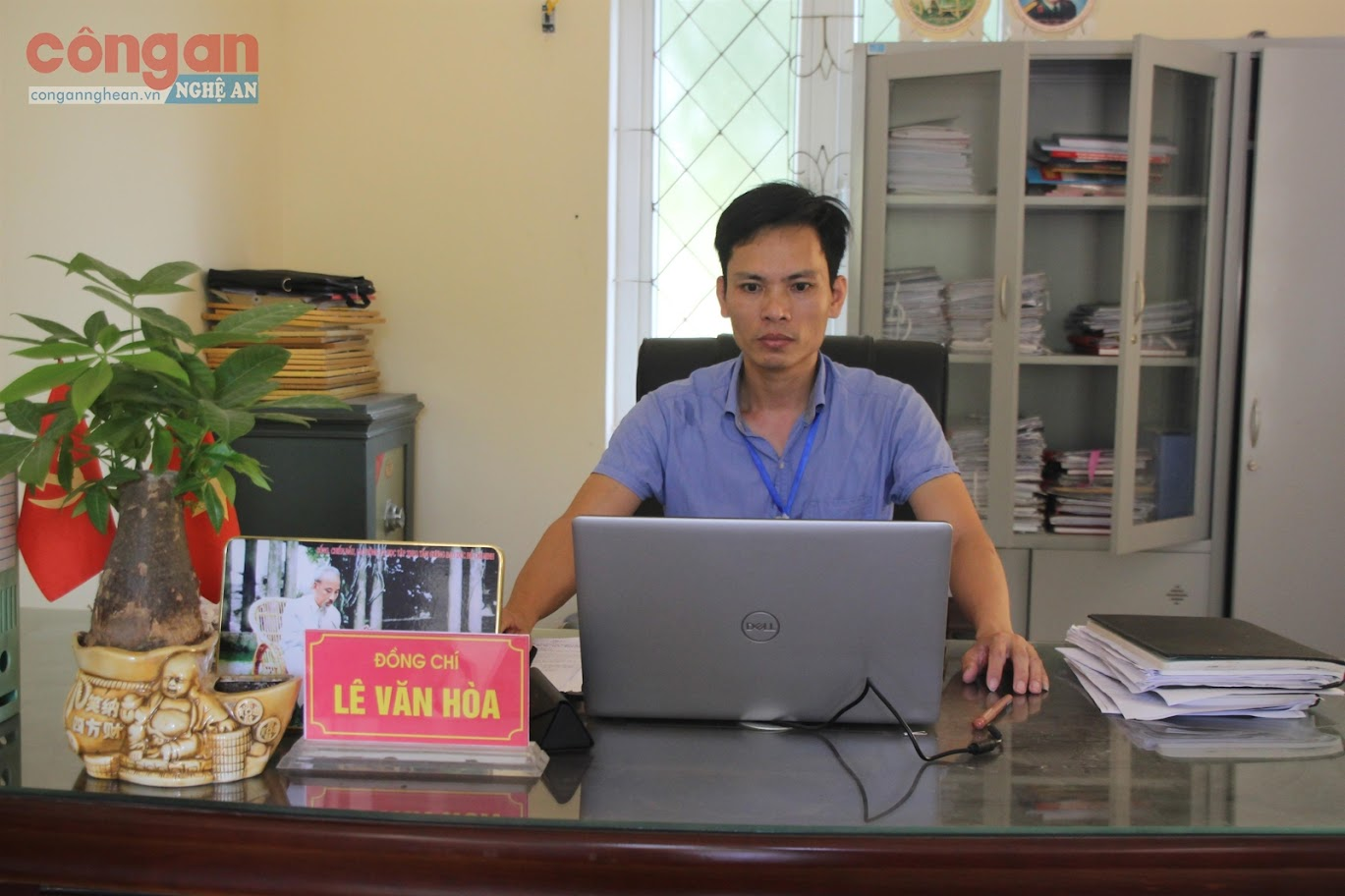 Đồng chí Lê Văn Hòa,                                  Chủ tịch UBND xã Nghi Xá