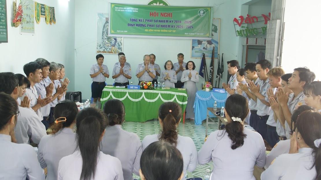 Hội nghị Hội đồng Huynh trưởng cấp Tập GĐPT Cam Ranh – Nhiệm kỳ 2020 – 2024