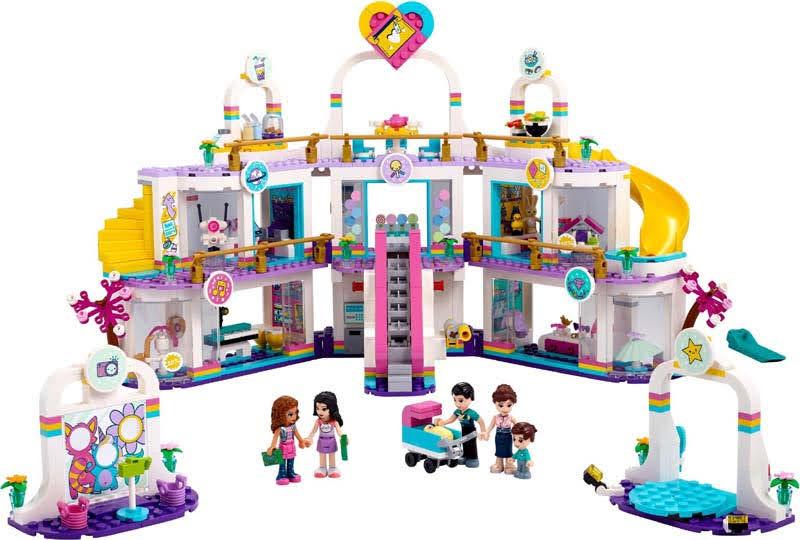 Contenido de Lego® 41450 Centro Comercial de Heartlake City