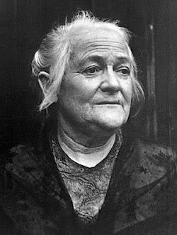 Porträt Clara Zetkin.