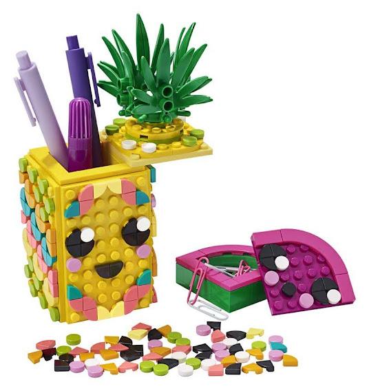 Contenido de Lego® 41906 Portalápices Piña
