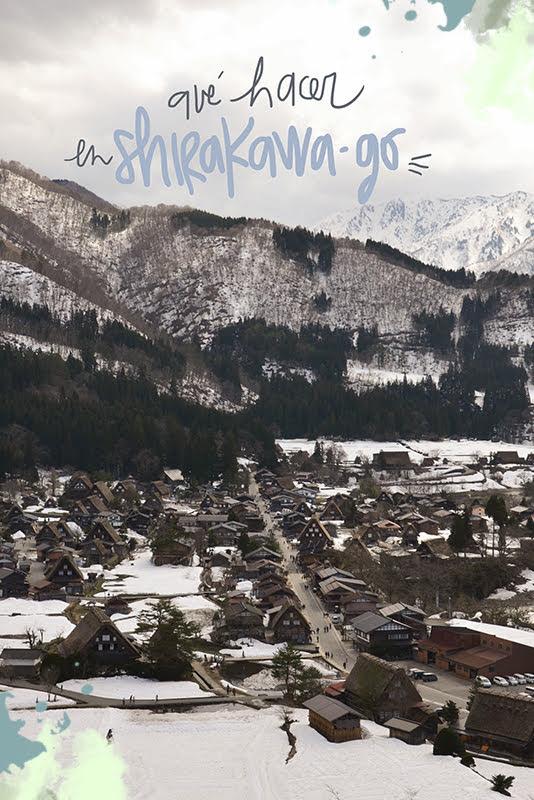 que ver y hacer en Shirakawago