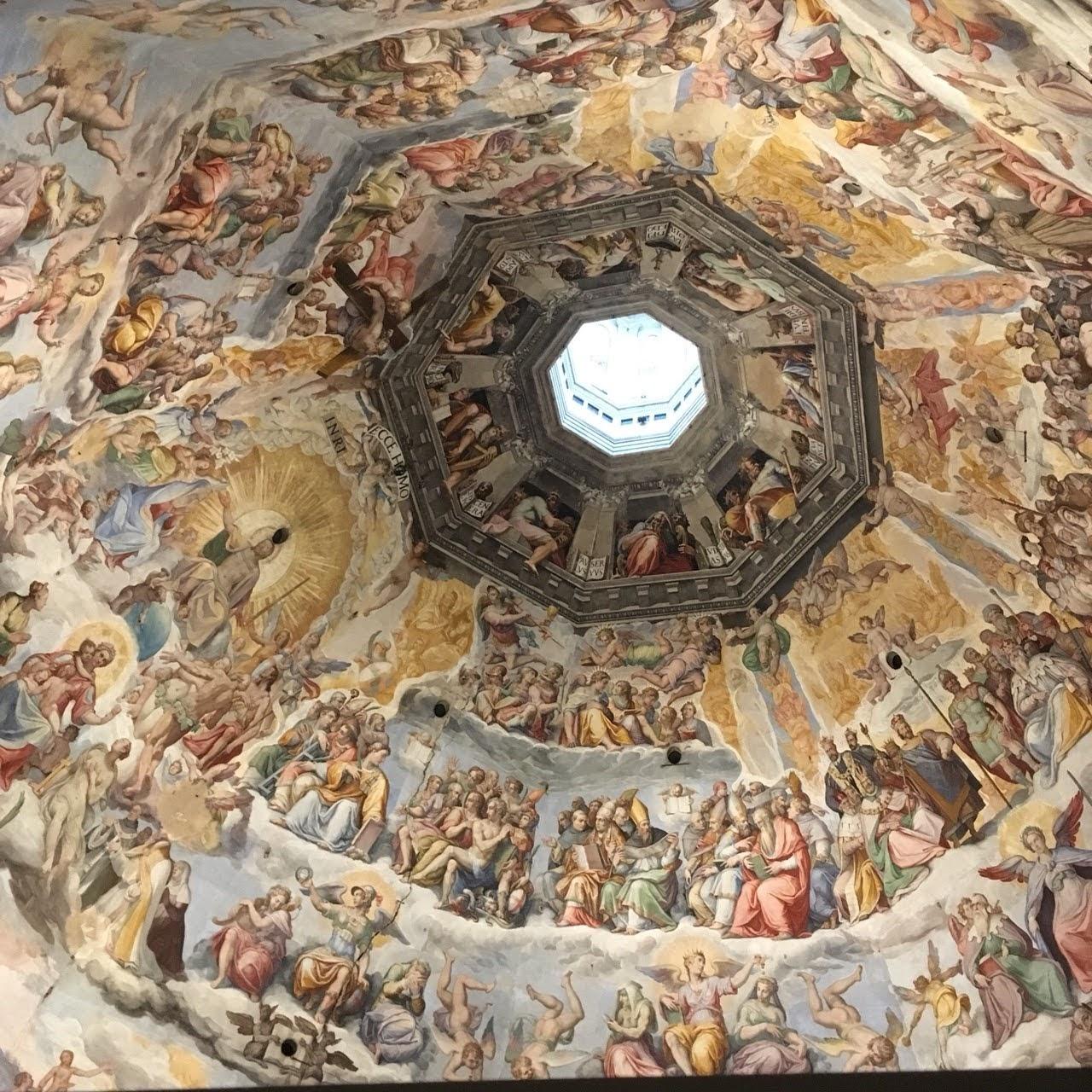 天井の壁画