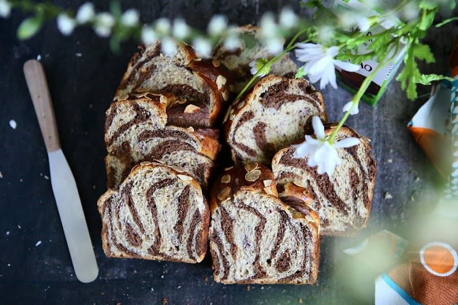 Marbled Chocolate Brioche