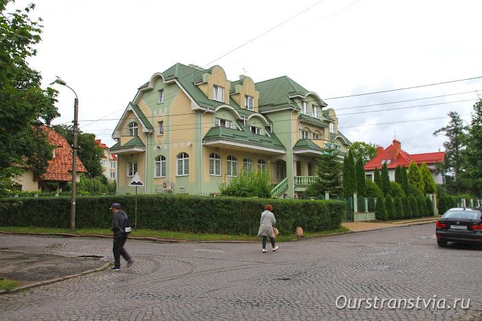 Отели в центре Калининграда, Обертайх