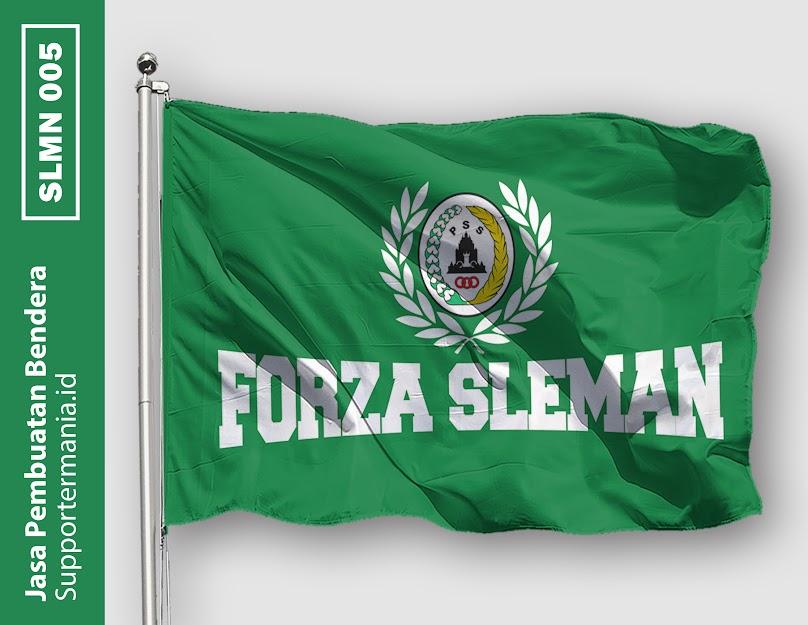Desain Bendera atau Mini Flag PSS Sleman dan BCS 5