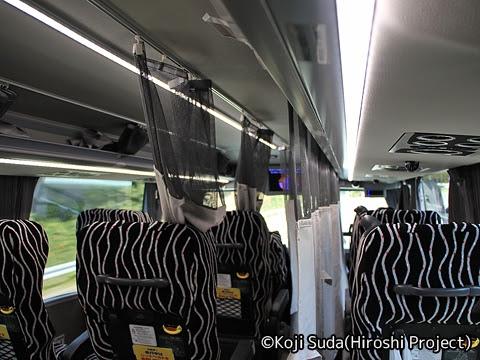 JRバス関東「グラン昼特急8号」 ・・12 2階 走行中の模様