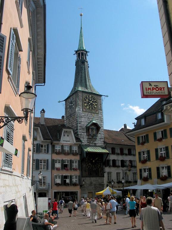 Solothurn, a cidade suíça obcecada pelo número onze