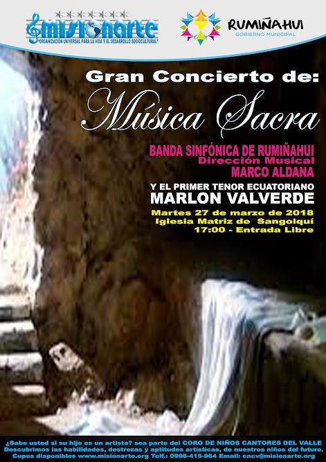 MUSICA SACRA MARLON VALVERDE