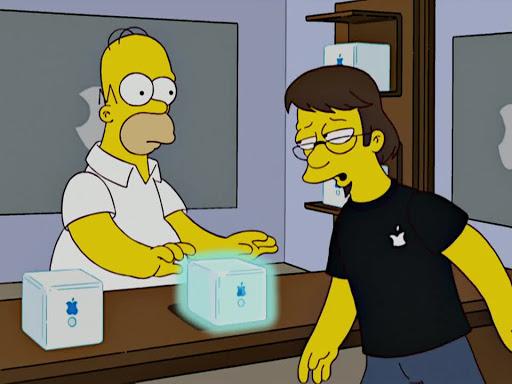 Los Simpsons 20x07 Mypods y Dinamita
