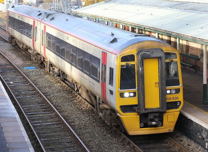 Rail travellers return to the trains