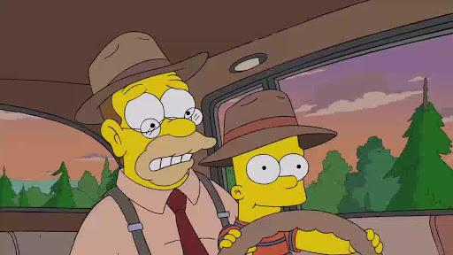 Los Simpsons 27x09 La vida de Bart