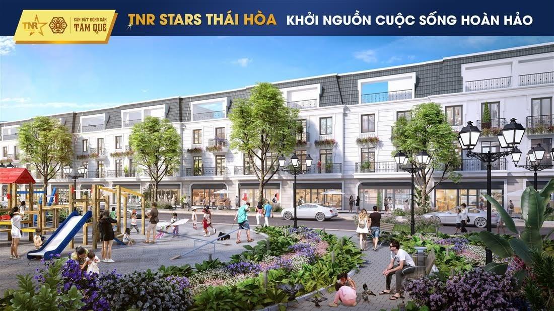 Những tuyến phố tương lai tại TNR Stars Thái Hòa