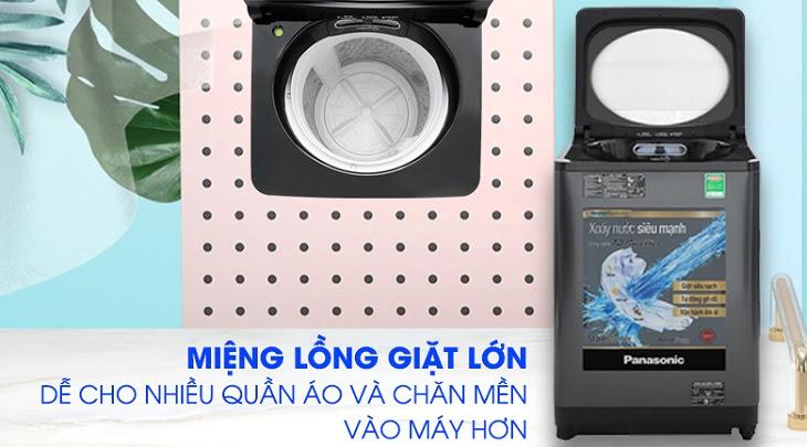 máy giặt Panasonic Inverter dòng FD-AR1 có lồng giặt lớn