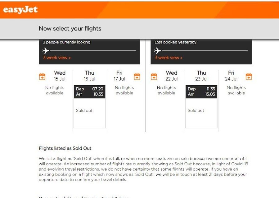 Flying to Madeira? Beware of easyJet's practices, as this looks very dodgy.