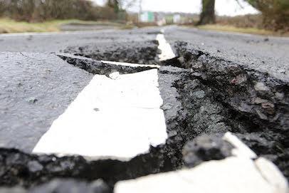 Extra £340k to fix potholes