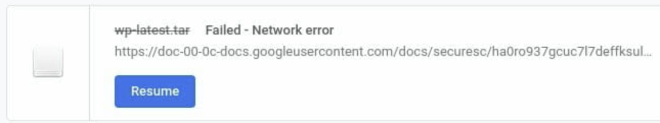 "[Solved] How to Fix Google Chrome Browser Download ""Failed - Network error"""