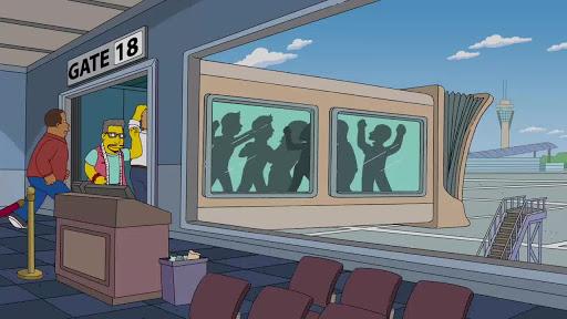 Los Simpsons 23x22 Lisa y Lady Gaga