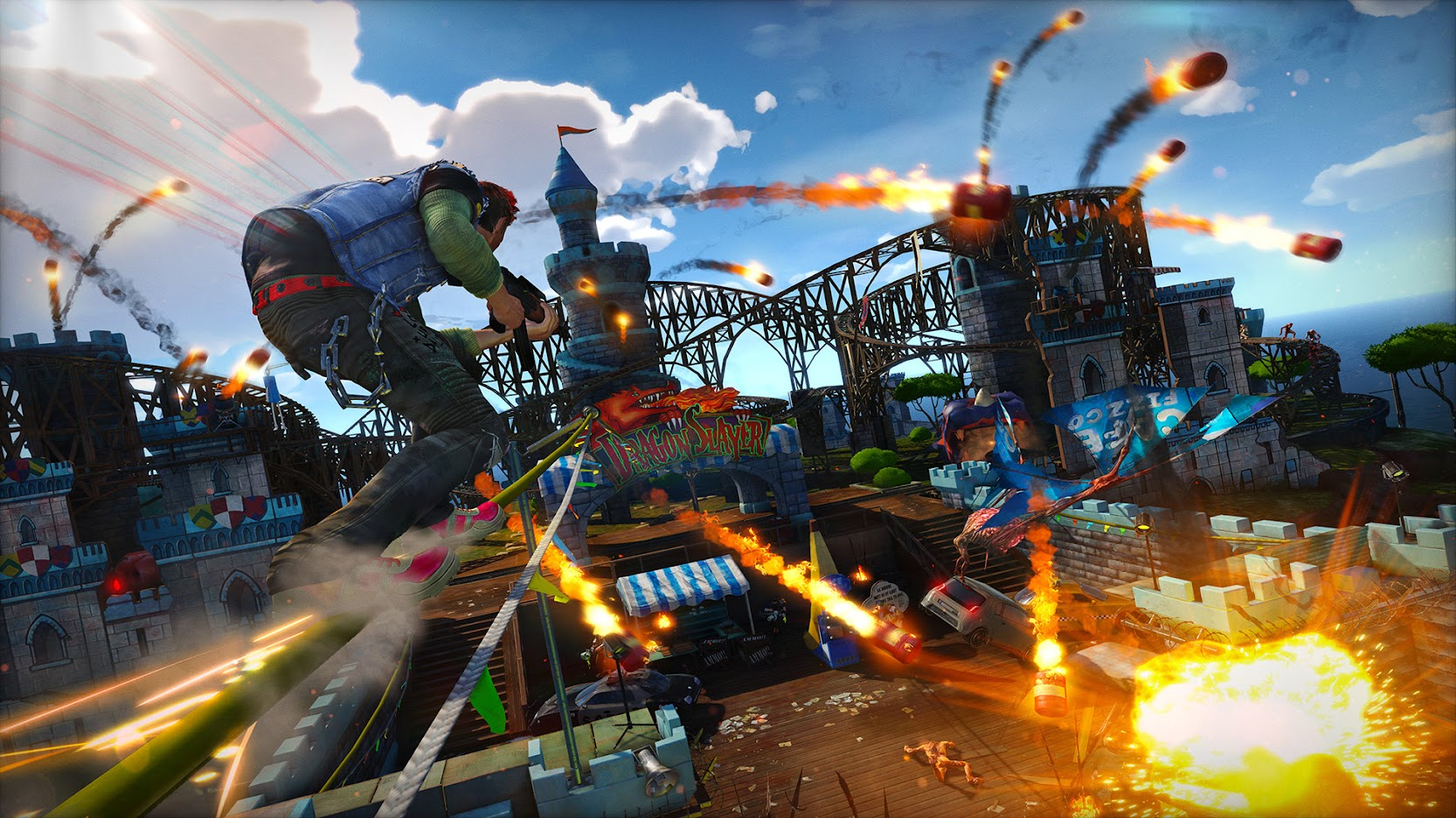 Could Sunset Overdrive Be Making A Comeback