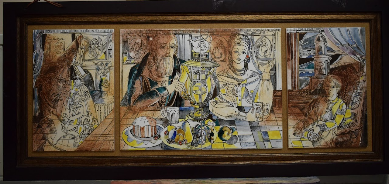 Выставка работ педагогов ВГИИК «Наследники Святого Александра Невского»