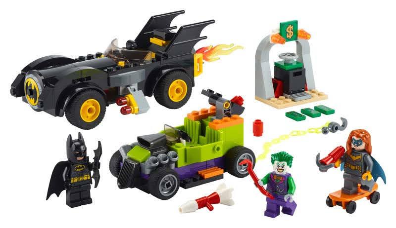 Contenido de Lego® 76180 Batman™ vs. The Joker™: Persecución en el Batmobile™
