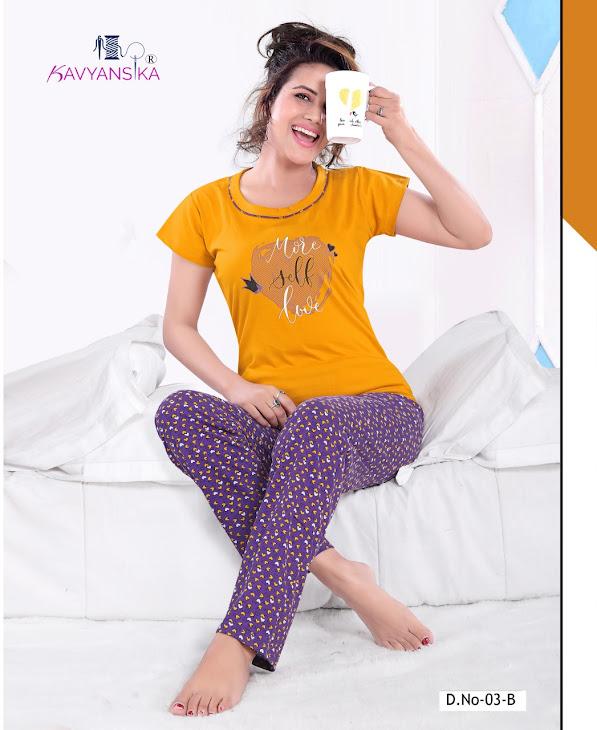 Kavyansika Vol 3 Women Night Suits Catalog Lowest Price