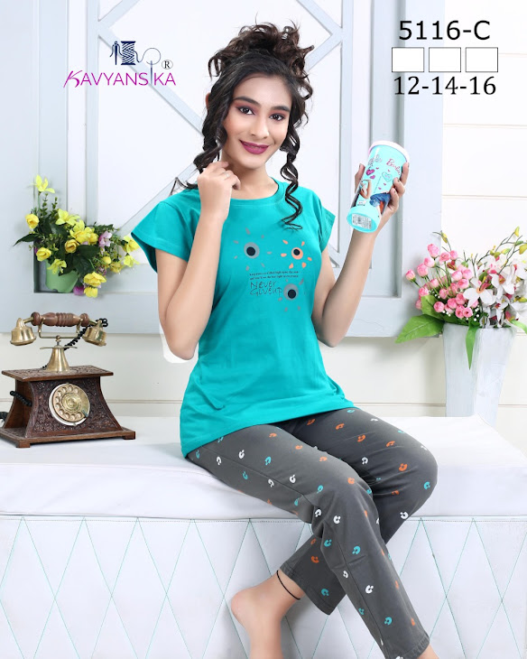 Kavyansika Vol 5116 Women Night Suits Catalog Lowest Price