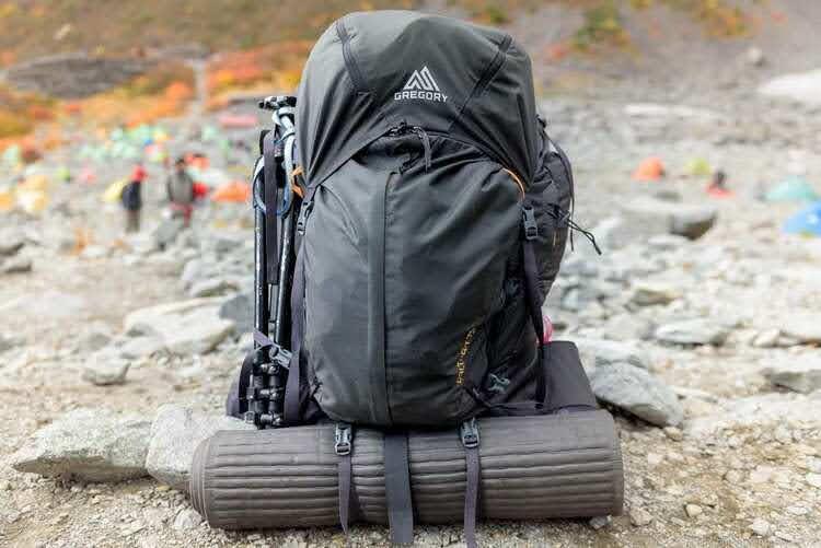 グレゴリー「バルトロ75」を使ったテント泊登山のパッキング方法