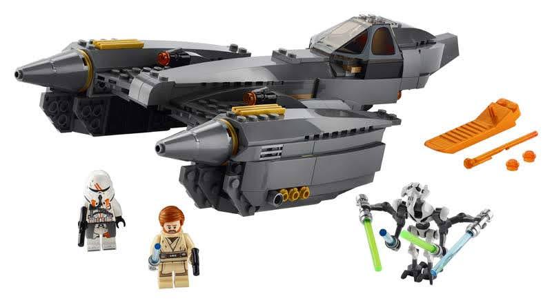 Contenido de Lego® 75286 Caza Estelar del General Grievous