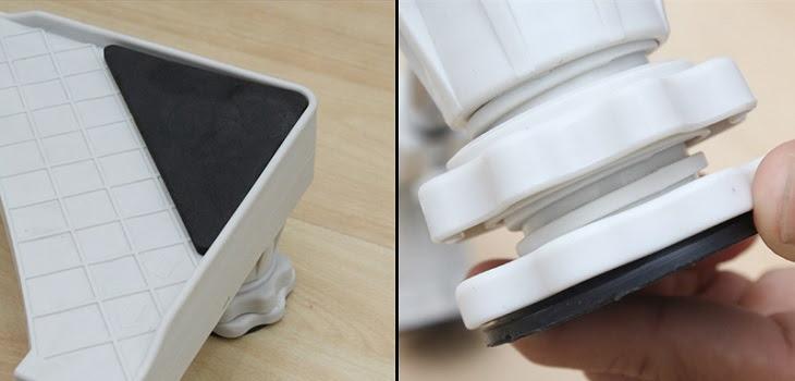 Chân đế cho máy giặt có khả năng chống rung lắc, hạn chế tiếng ồn và an toàn