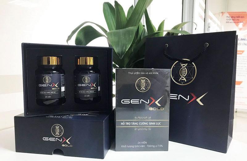 Gen x Gold điều trị các vấn đề sinh lý của nam giới