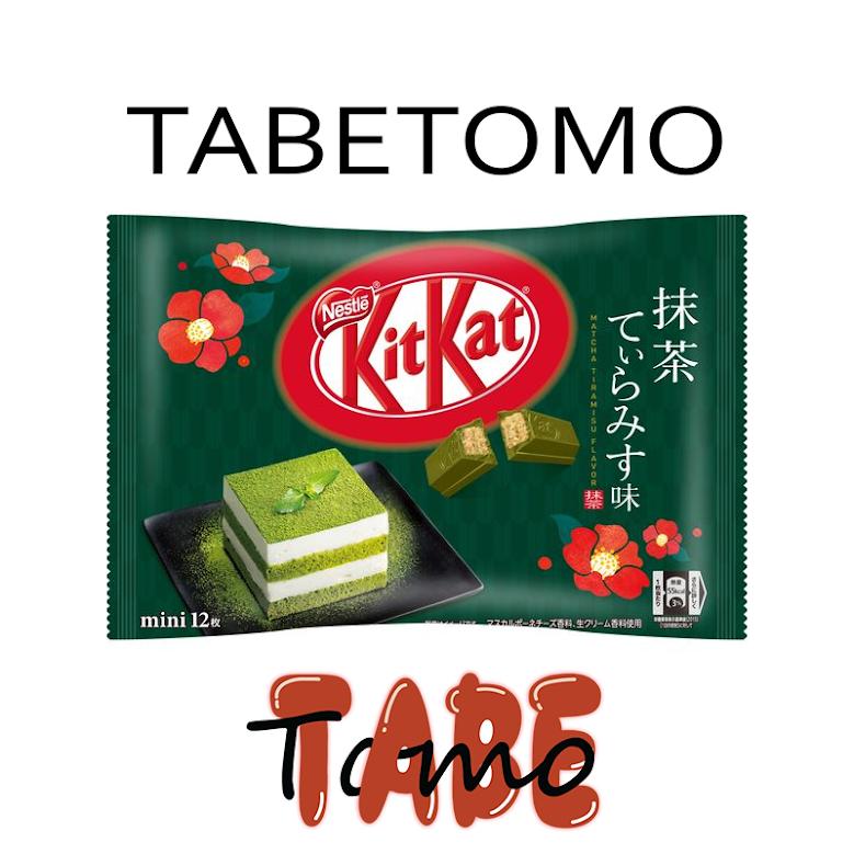 KitKat trà xanh tiramisu