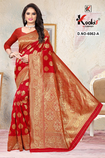 Buy Kodas Skoda 6062 Latest Sarees Catalog Online Wholesaler