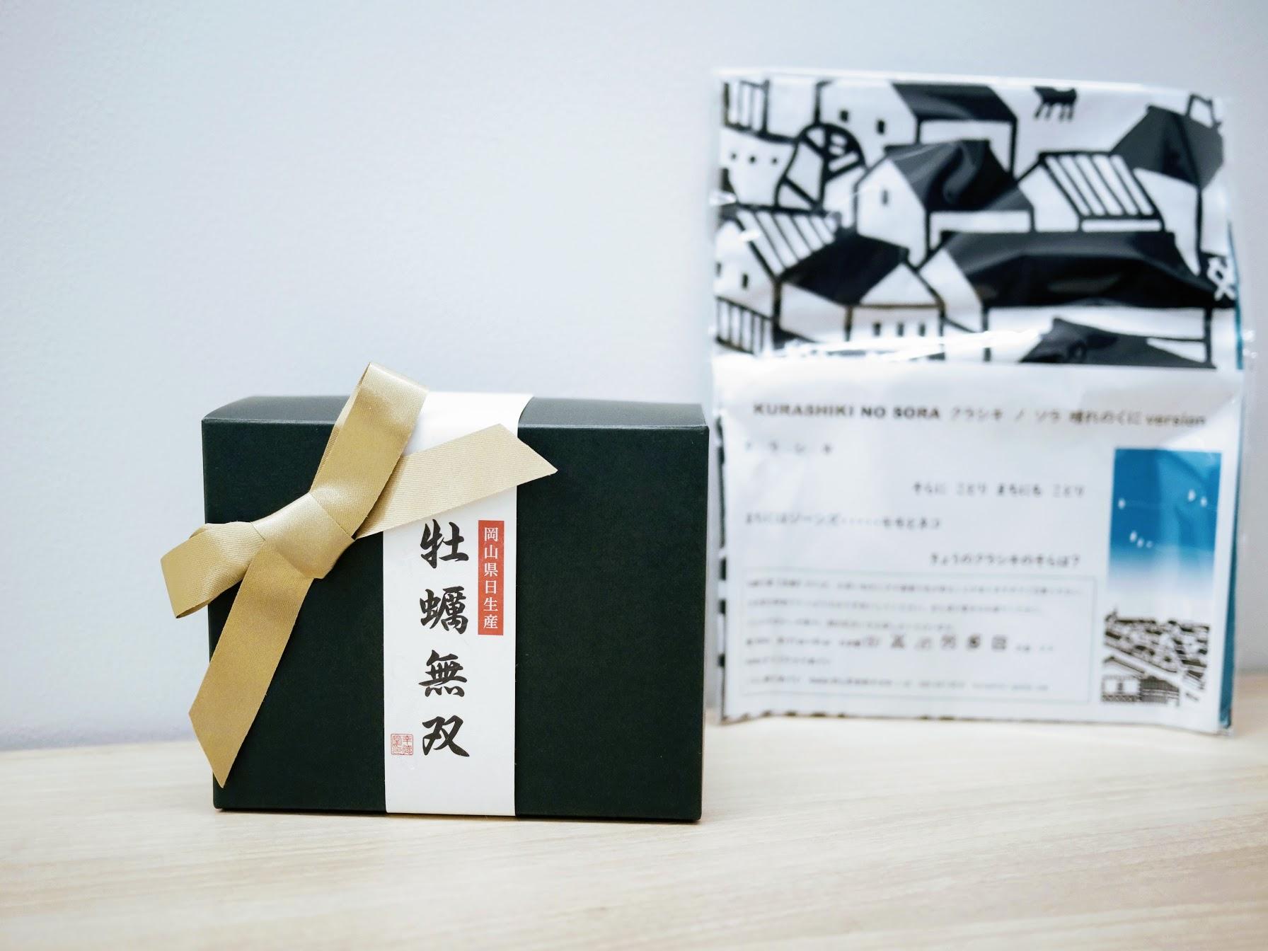 岡山県日生産「牡蠣無双」& GOCHAのてぬぐい