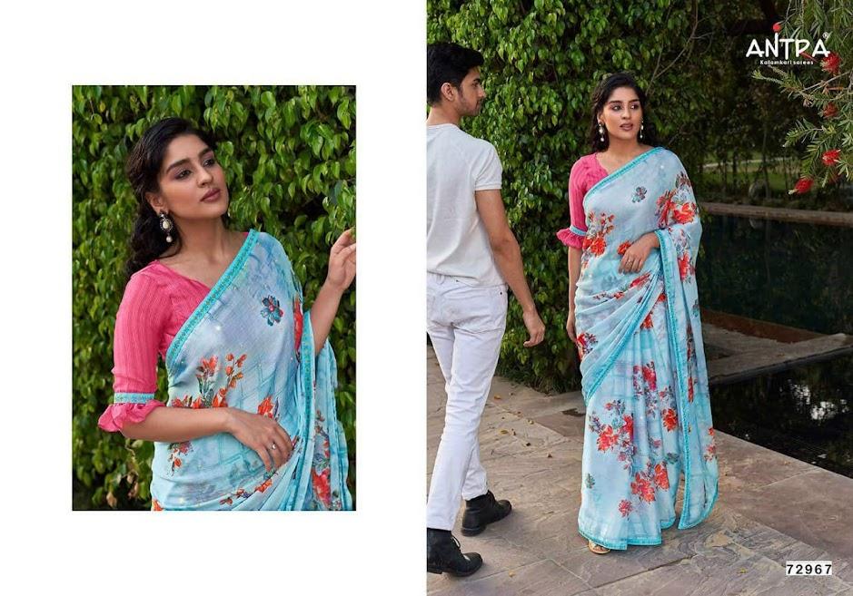Buy Antra Sathi Vol 1 Latest Sarees Catalog Online Wholesale