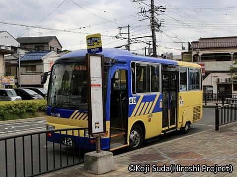 近鉄バス 稲田 0406 徳庵駅前にて