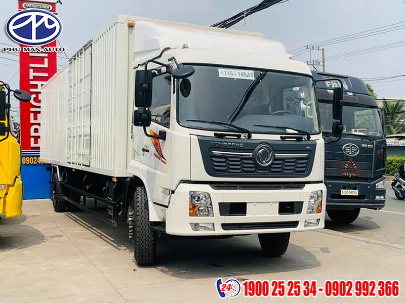 ngoại thất dongfeng thùng container