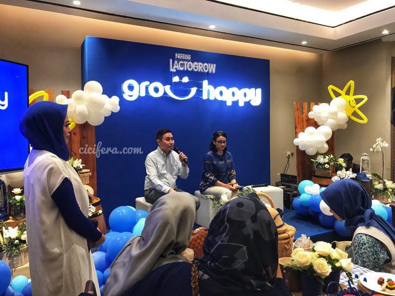Materi dan Sesi Tanya Jawab Grow Happy Lactogrow