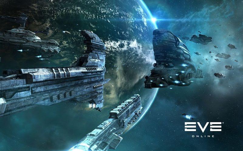 EVE Online, jogo que construiu um monumento a seus jogadores