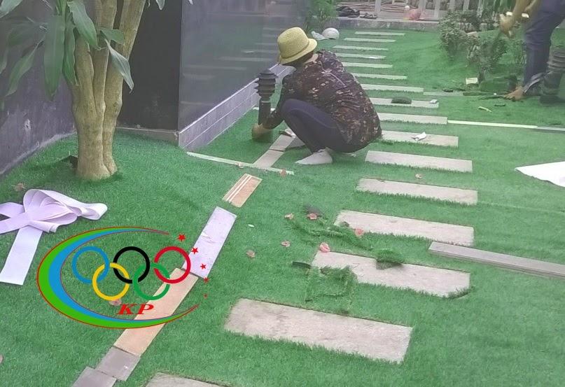 Trang hoàng tốn quá nhiều công nếu không có Thảm sân vườn