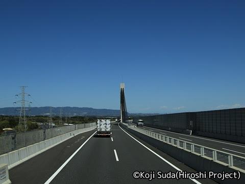 JRバス関東「グラン昼特急8号」 ・・12 2階 最前席からの眺望_08