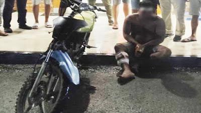 Polisi Tangkap Tersangka Curanmor yang Beraksi di Kotamobagu