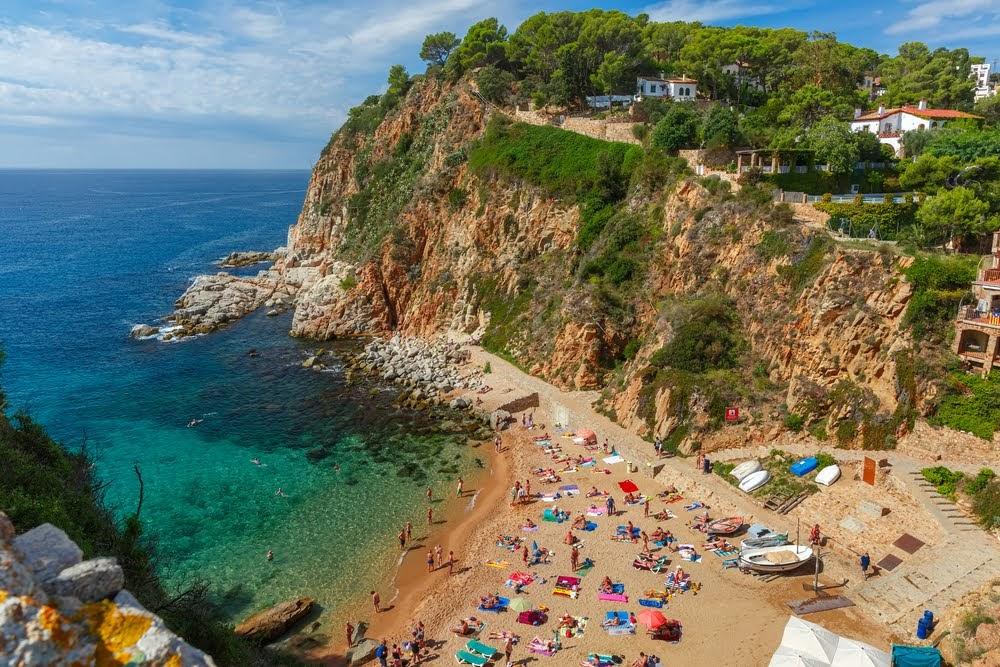 Playa des Codolar Tossa de Mar