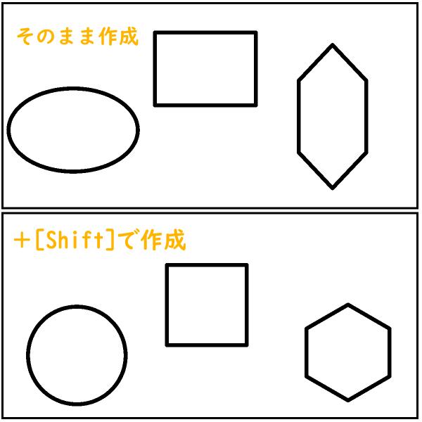 クリスタ:正多角形・円