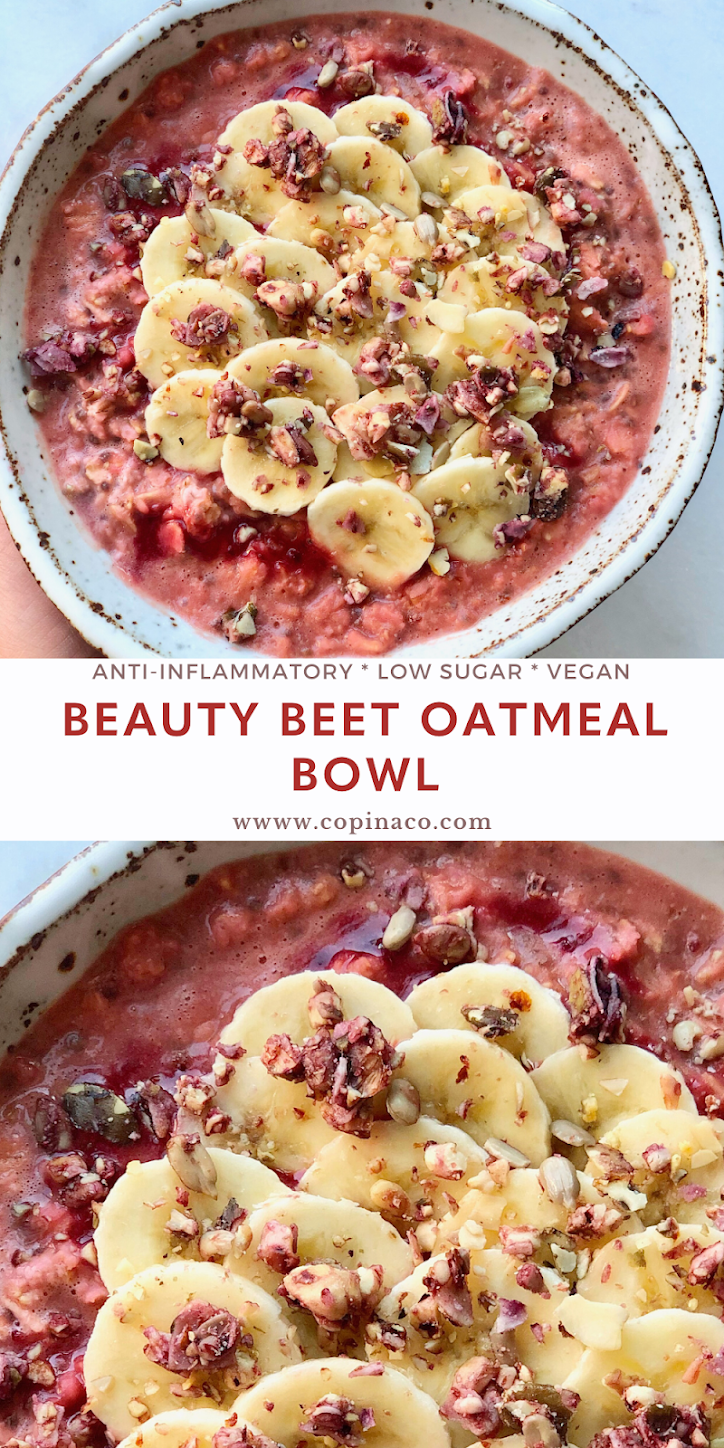 Beauty Beet Oatmeal