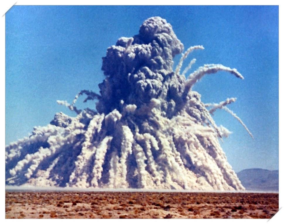 Cratera nuclear de Sedan, a cratera criada pelo homem