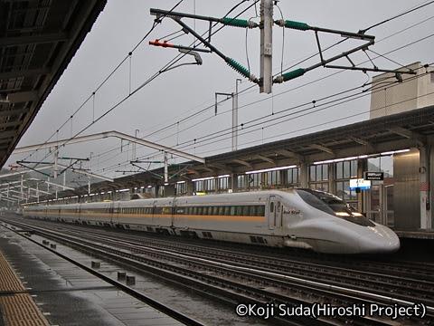 JR西日本 700系7000番台「Rail Star」 新下関駅にて